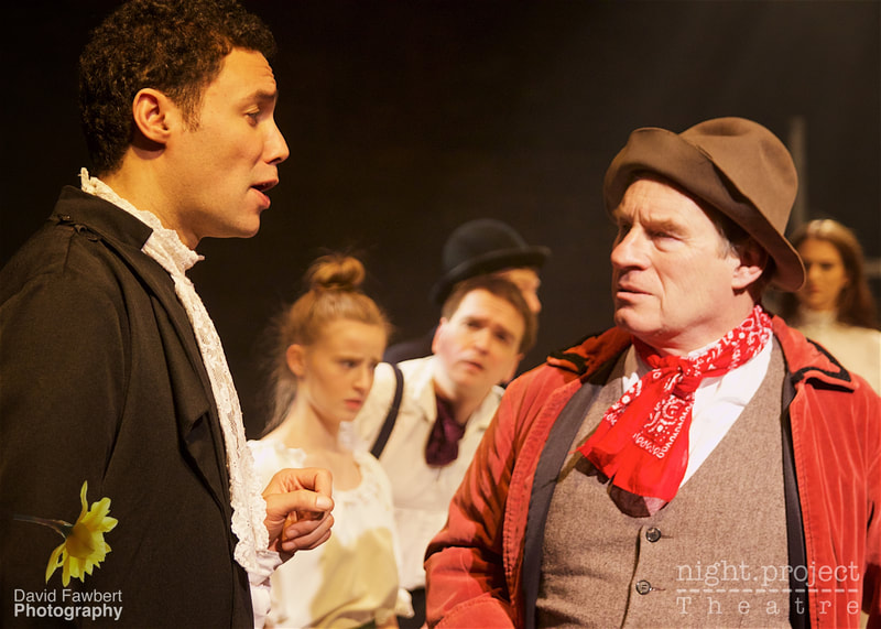 Ralph Toppin-McKenzie, Julian Bissell, Night Project Theatre, David Fawbert Photography, Tess The Musical
