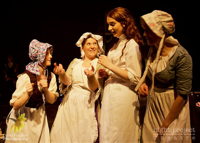 Farrah Hughes, Emmeline Braefield, Rebecca Shaw, Night Project Theatre, David Fawbert Photography, Tess The Musical
