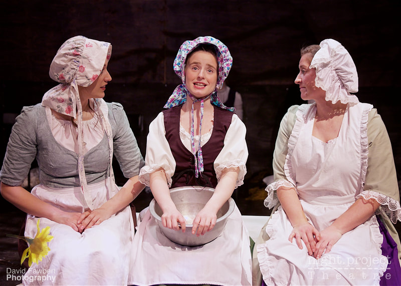 Rebecca Shaw, Farrah Hughes, Emmeline Braefield, Night Project Theatre, David Fawbert Photography, Tess The Musical